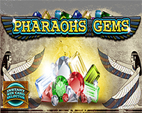 Instant Win Card Selector - Pharaohs Gems