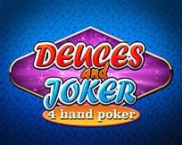 Deuces And Joker Poker 4 Hand